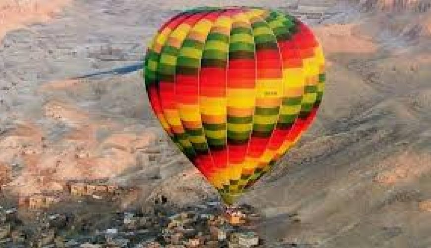 Hot Air Balloon adventure in Luxor over Nile Rive