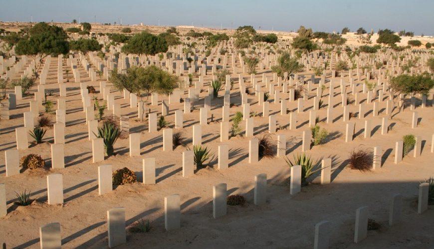 The Commonwealth cemeteries